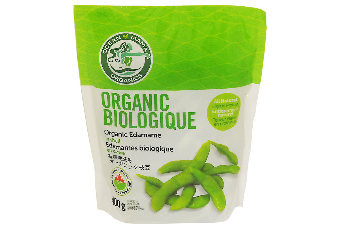 Organic Edamame Beans - In Shell